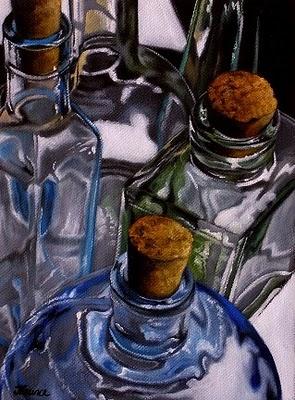 """Hecho en España II"" original fine art by Jelaine Faunce"