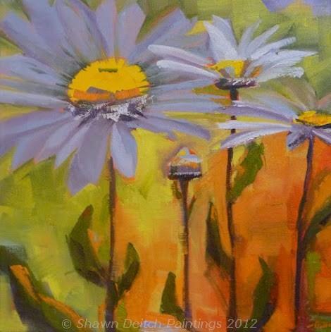 """""""Daisies"""" original fine art by Shawn Deitch"""