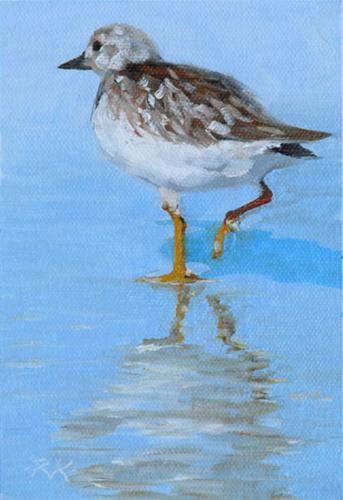 """""""Wet Feet"""" original fine art by Rita Kirkman"""