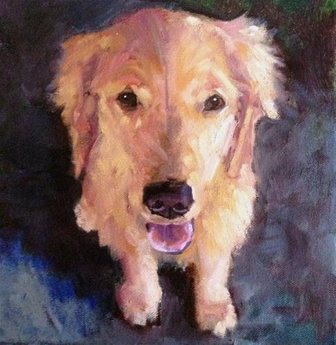 """Walk Please!"" original fine art by Deborah Newman"