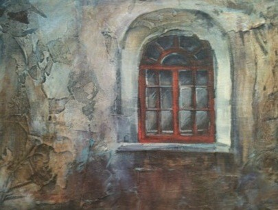 Old  Window original fine art by Margie Whittington