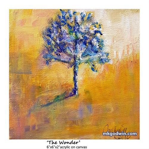"""""""The Wonder"""" original fine art by Marie K Godwin"""