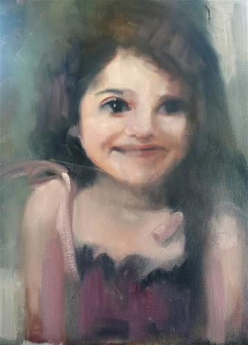"""Birthday girl"" original fine art by Rentia Coetzee"