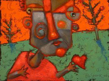 """Heart And Soul"" original fine art by Brenda York"