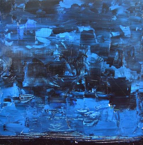 """""""Landscape 83"""" original fine art by Katie Jeanne Wood"""