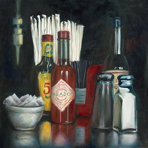 """""""Huey's"""" original fine art by Beth Moreau"""