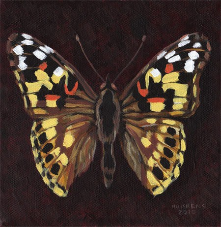 """Butterfly No. 4"" original fine art by Randal Huiskens"