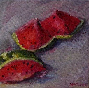 """Summer's Sugar"" original fine art by Alice Harpel"