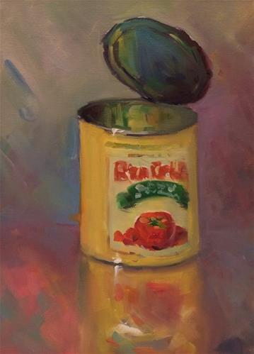 """CANNED"" original fine art by Doug Carter"