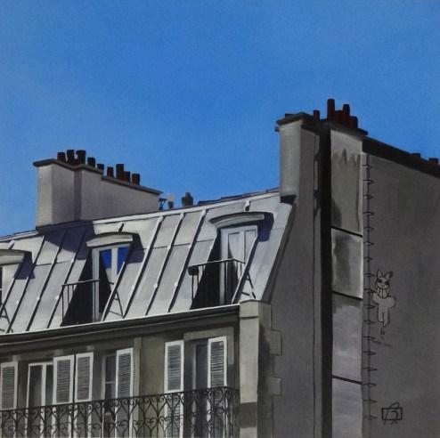 """Ciel #2"" original fine art by Andre Beaulieu"