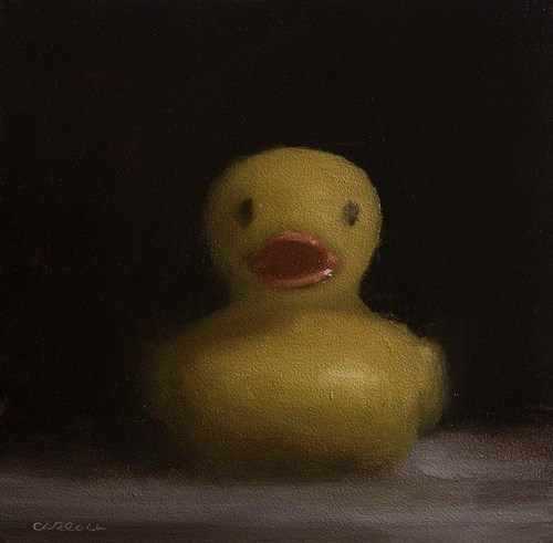 """Duck"" original fine art by Neil Carroll"