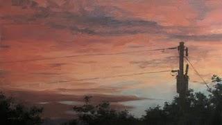 """""""Dusk"""" original fine art by Michael Naples"""