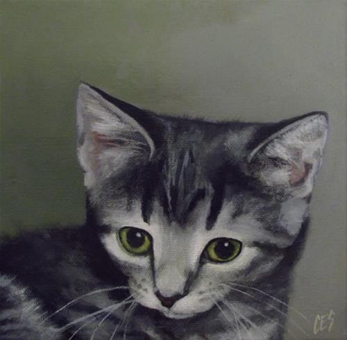 """""""Commissioned Pet Portrait"""" original fine art by ~ces~ Christine E. S. Code"""