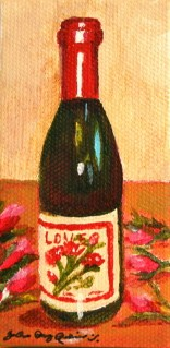 """Love is good"" original fine art by JoAnne Perez Robinson"