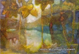 """Daffodil Dream"" original fine art by Deirdre McCullough Grunwald"