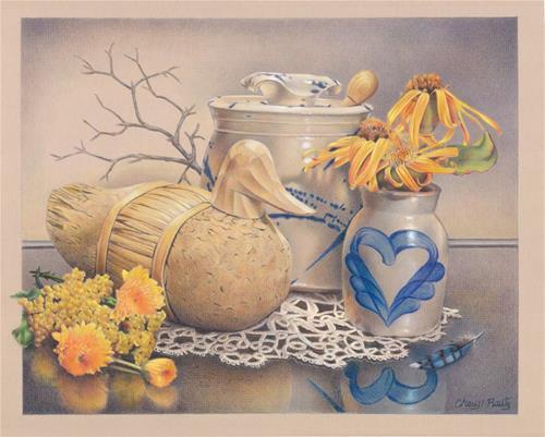 """Autumn Collection"" original fine art by Cheryl Plautz"
