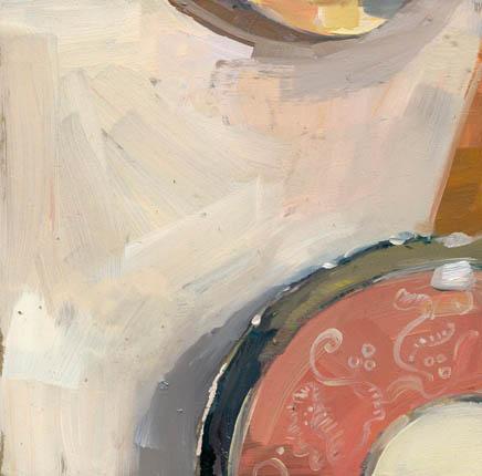 """#920 edge of plate"" original fine art by Lisa Daria"