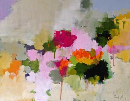 """""""Pamela's Garden"""" original fine art by Pamela Munger"""