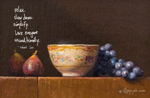 """""""New FREE POSTER is Ready + Happy Thanksgiving"""" original fine art by Abbey Ryan"""
