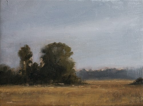 """September Field"" original fine art by Neil Carroll"