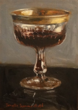"""Luxurious Glass"" original fine art by Jonelle Summerfield"