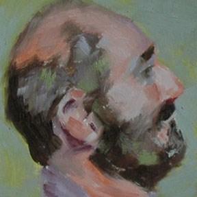 """""""FACE No. 85"""" original fine art by Linda Popple"""