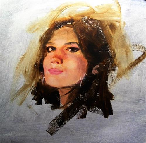 """Mel"" original fine art by Richard Schiele"