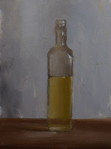 """Linseed Oil"" original fine art by Neil Carroll"