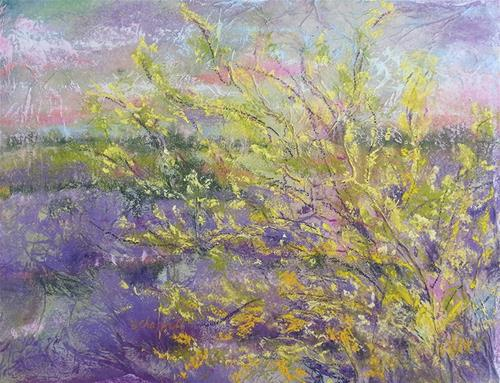 """Tendrils"" original fine art by Becky Chappell"