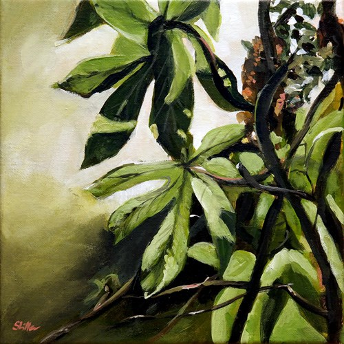 """1547 Aralia"" original fine art by Dietmar Stiller"