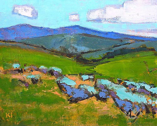 """Boise Summer"" original fine art by Kevin Inman"