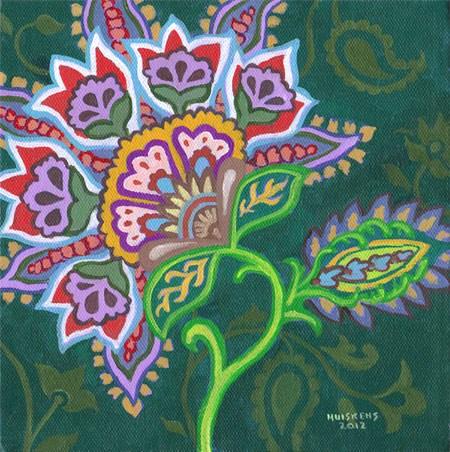 """Flower No. 2"" original fine art by Randal Huiskens"