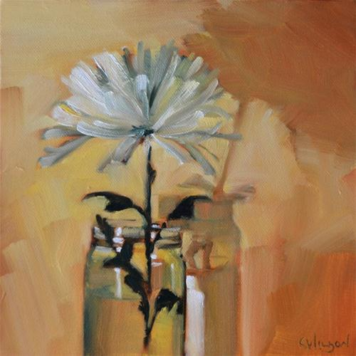 """Mum Jar"" original fine art by Cheryl Wilson"