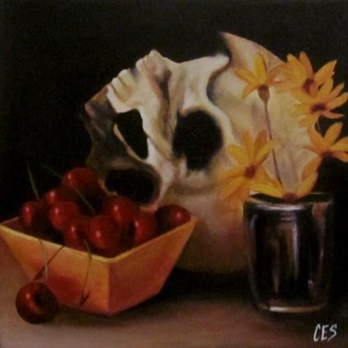 """""""Mixed Emotions"""" original fine art by ~ces~ Christine E. S. Code"""
