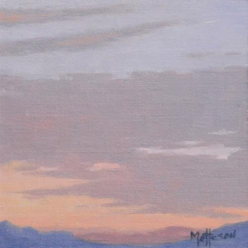 """Southwest Sunrise"" original fine art by Susan Matteson"