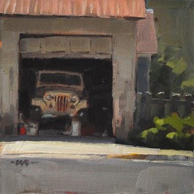 """Fixer Upper"" original fine art by Carol Marine"