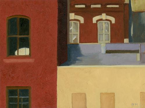 """""""Windows in Manyunk"""" original fine art by Nancy Herman"""