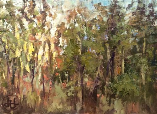 """""""western light"""" original fine art by Dottie  T  Leatherwood"""