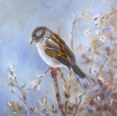 """The Sky's the Limit"" original fine art by Linda McCoy"