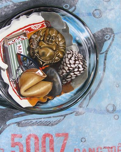 """Ingredients For A Successful Endeavor"" original fine art by Jelaine Faunce"