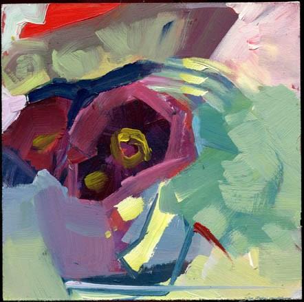 """""""2332 Curtsy"""" original fine art by Lisa Daria"""