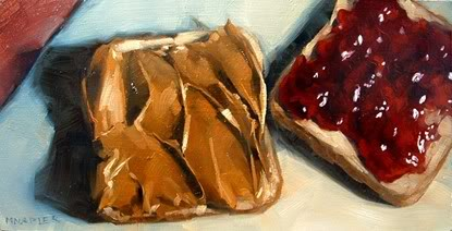"""PB and J No.10"" original fine art by Michael Naples"