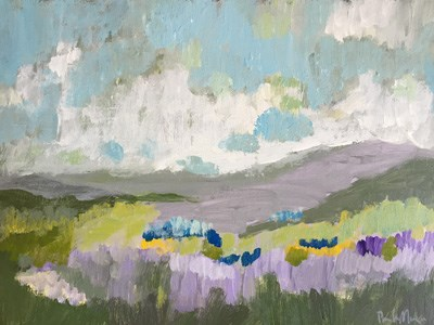 """May Valley"" original fine art by Pamela Munger"