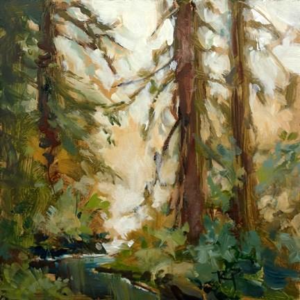 """Stream"" original fine art by Robin Peterson"