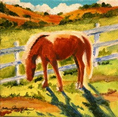 Satori Horse original fine art by Joanne Perez Robinson