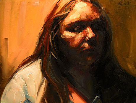 """Meself"" original fine art by Karin Jurick"