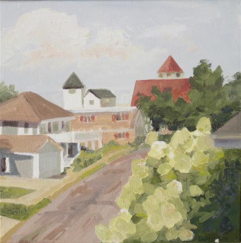 """""""Strathmere"""" original fine art by Priscilla Bohlen"""
