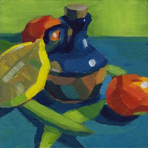 """""""Huddled Together"""" original fine art by J M Needham"""