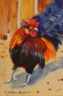 """That's What I'm Talking About!"" original fine art by JoAnne Perez Robinson"