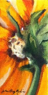 """Day Before Pumpkin Pie"" original fine art by JoAnne Perez Robinson"